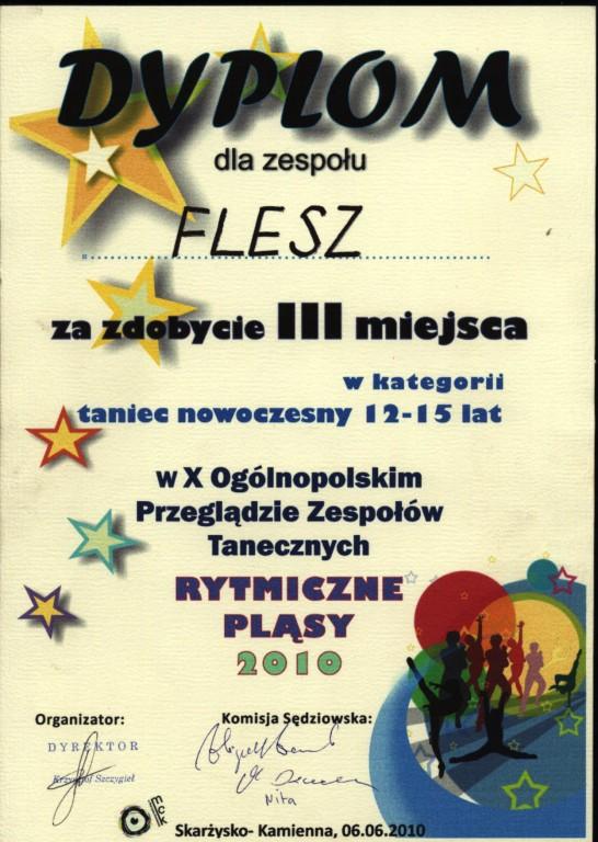 Rytmiczne Pląsy 2010