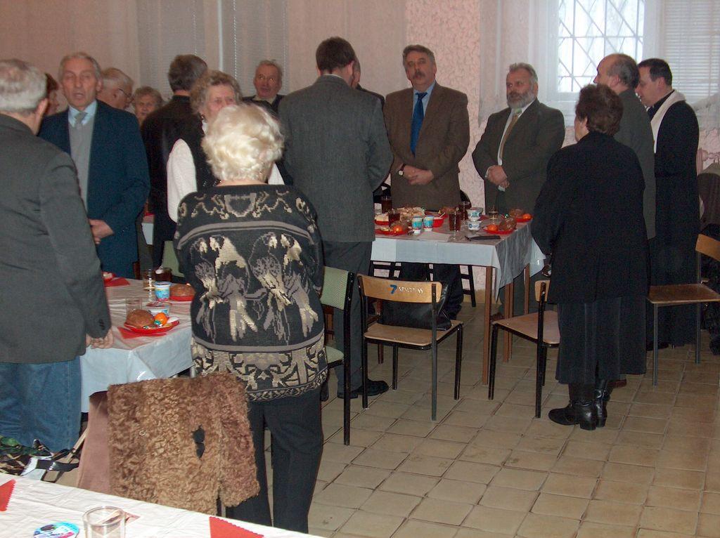 Spotkanie opłatkowe - 2004