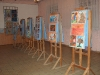 Wystawa dzieci niepełnosprawnych